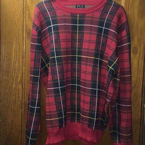 Jos. A. Bank Men's Red Crewneck Sweater